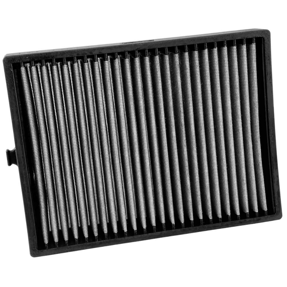 K&N VF1010 Washable & Reusable Cabin Air Filter Cleans and Freshens Incoming Air for your 2011-2016 JEEP Wrangler by K&N (Image #1)