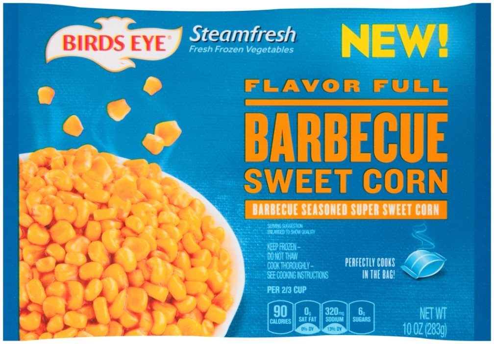Birds Eye Steamfresh, Flavor Full Barbecue Sweet Corn, 10 Ounce (Frozen): Amazon.com: Grocery & Gourmet Food