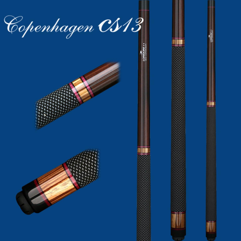 Longoni Copenhague Carom Cue, Copenhagen CS13 - 480 gram: Amazon.es: Deportes y aire libre