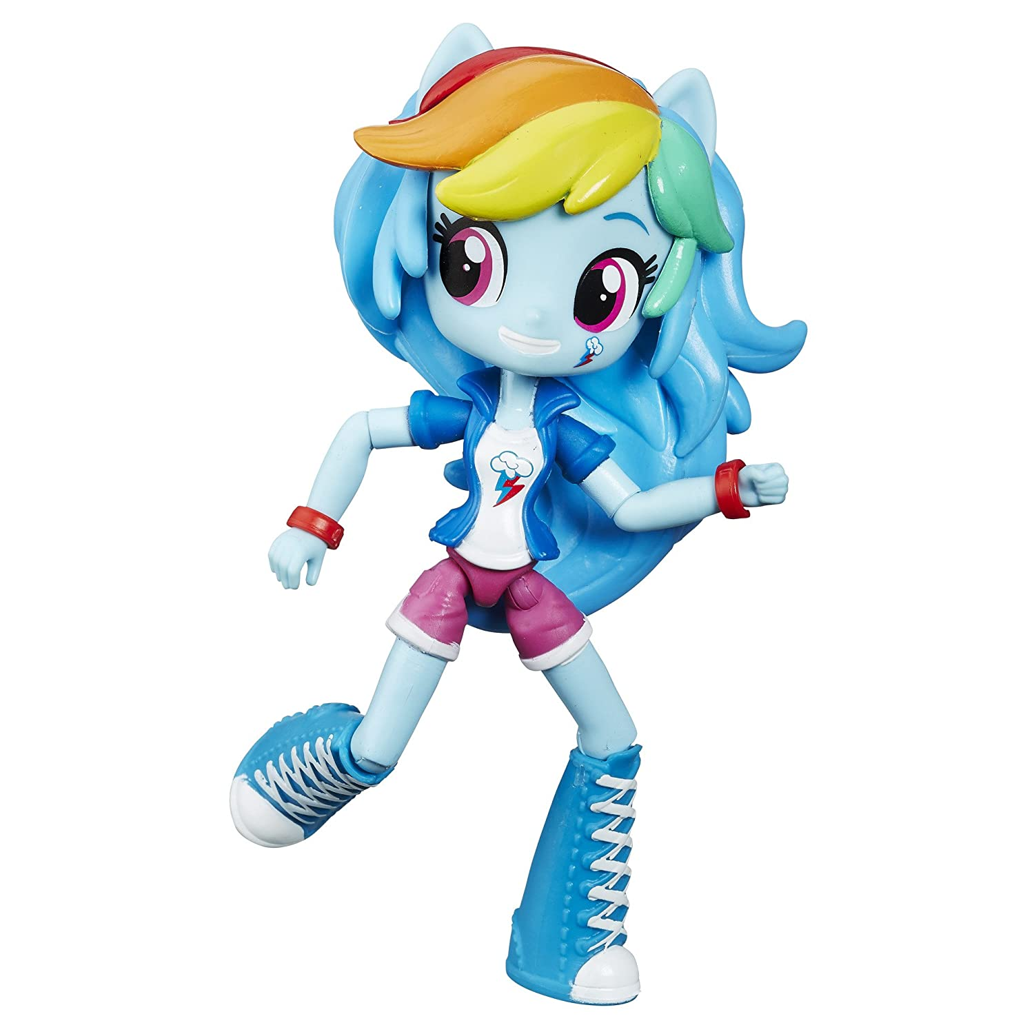 b9e3c0493f4 Buy My Little Pony Equestria Girls Minis Rainbow Dash Doll Online at Low  Prices in India - Amazon.in