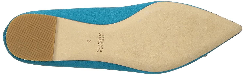 Badgley Mischka Women's Davis Pointed Toe Flat B01MAVX9Z5 9 M US|Calypso Blue