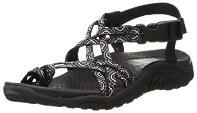 560ecd20e24 Amazon.com  Skechers Women s Reggae-Happy Rainbow Sandal  Shoes