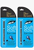 Blue Heaven Cosmetics 2-Piece BH Kajal Liner Combo (20g, Black)
