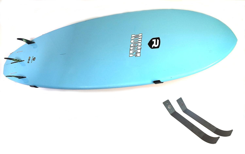 amazoncom coastal provision surfboard longboard sup wall mount rack hanger sports u0026 outdoors