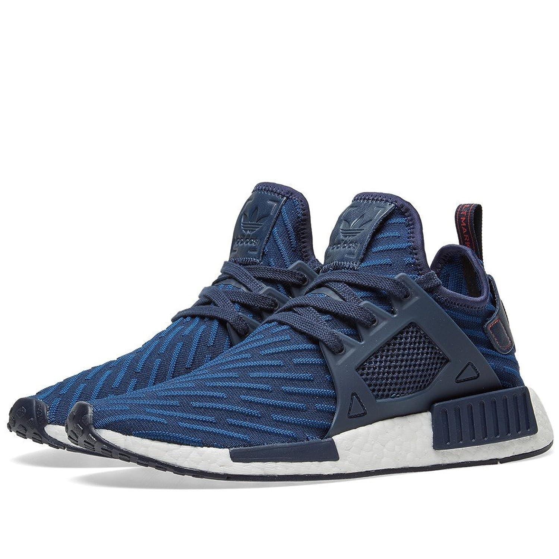 Adidas NMD XR1 PK primeknit glitch camo black blue