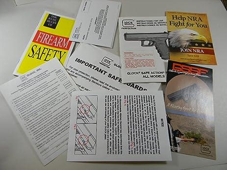 amazon com original glock factory pistol owner manual northridge rh amazon com Glock Manual Safety Review Glock Manual 2012