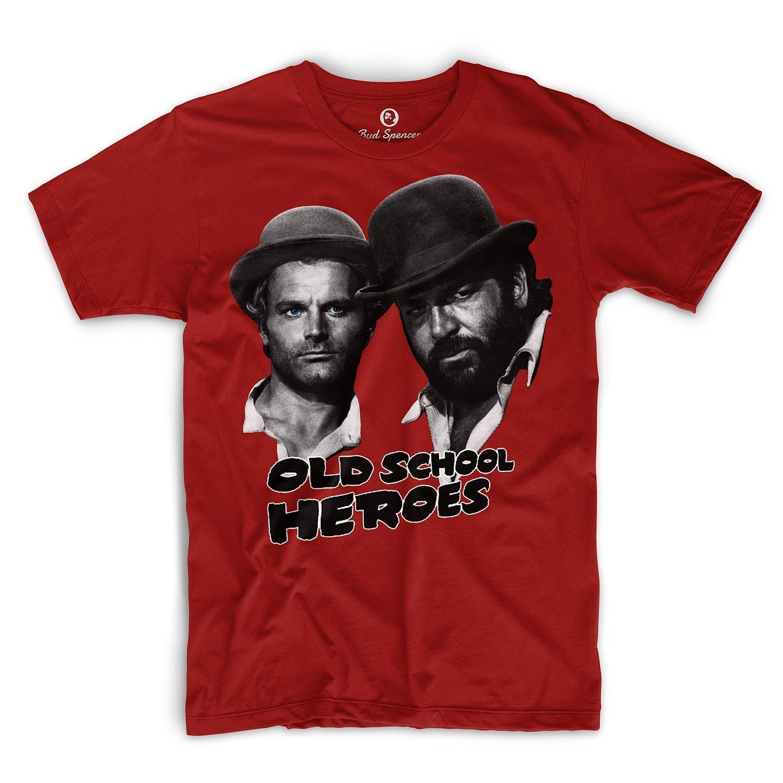 Bud Spencer–Old School Heroes–T-shirt BUD-TSHIRT-OLDSCHOOL-R