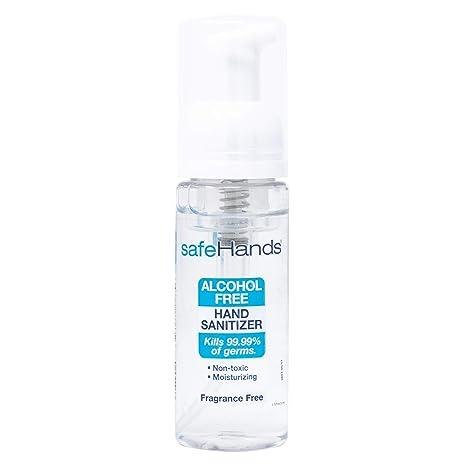 Buy Safehands 1 Alcohol Free Foam Hand Sanitizer Brand Fragrance