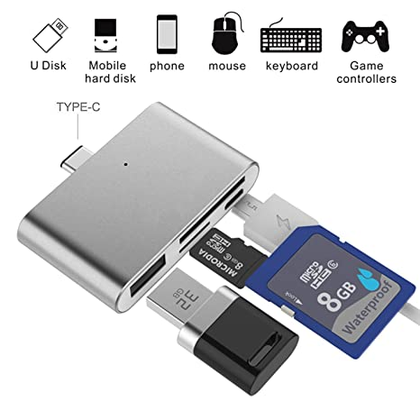 Adaptador para Lector de Tarjetas SD, Ybee Super Thin USB 3.1 OTG ...