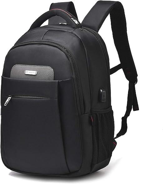 Ladies Large Stud Front Pocket College School Backpack Rucksacks