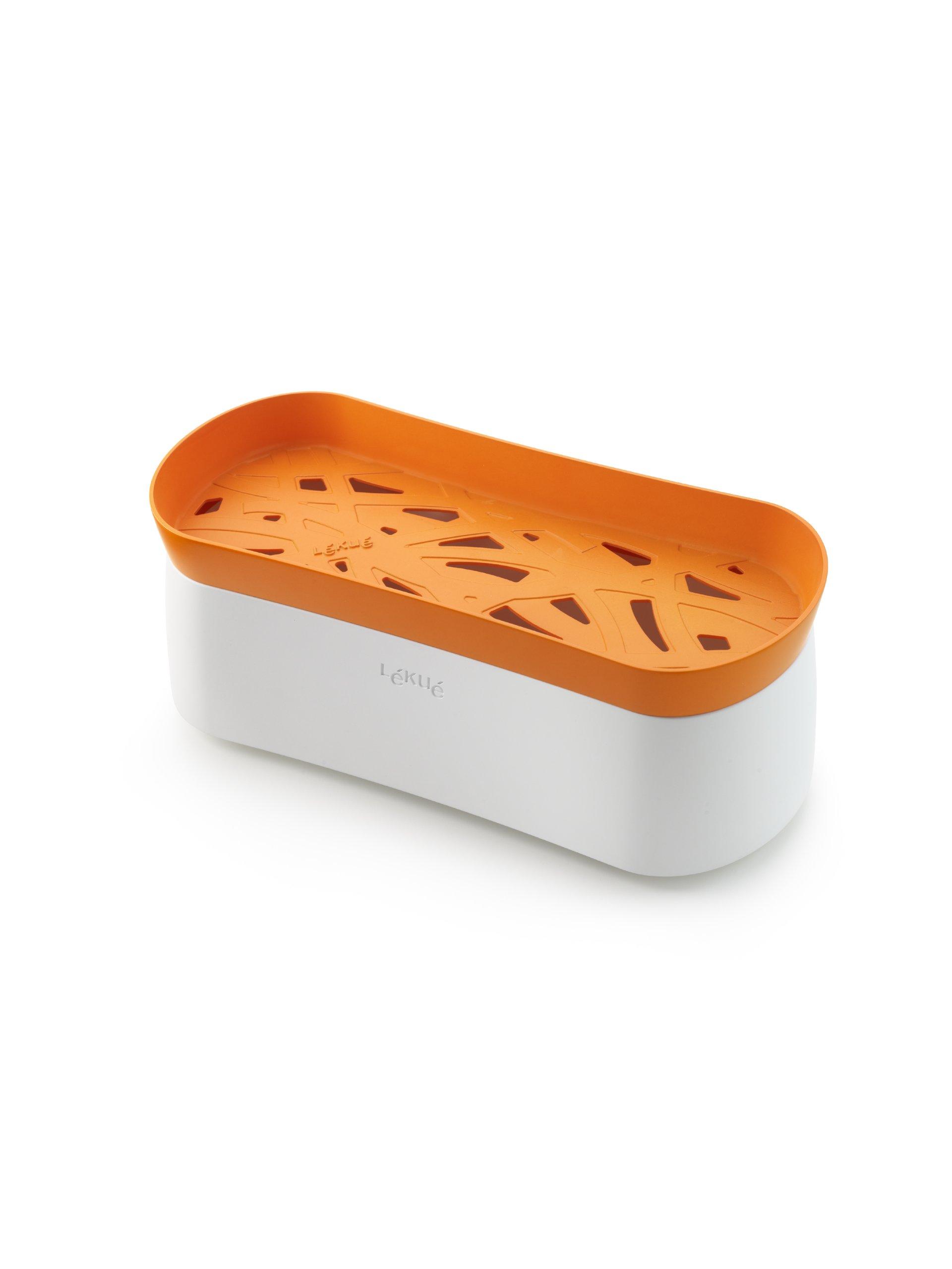 Lekue Pasta Cooker, Model # 0200702N07M017, Orange by Lekue (Image #1)