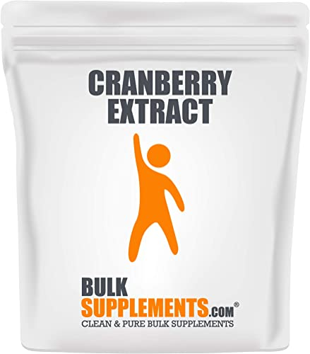BulkSupplements Cranberry Extract Powder 500 Gram