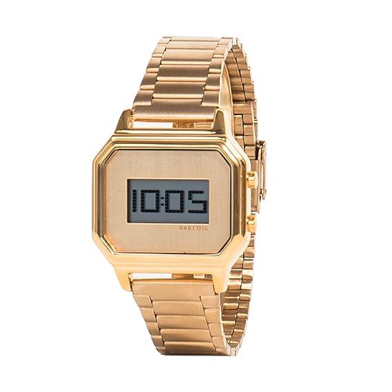 Parfois - Reloj Gold Tray - Mujeres - Tallas M - Dorado