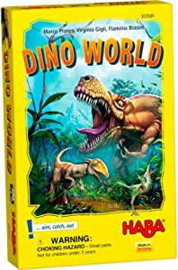 HABA Flying Frog Current Edition Dino World Board Game