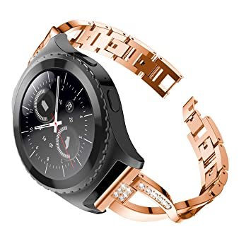 Amazon.com : MoreToys Stainless Steel Watch Strap ...