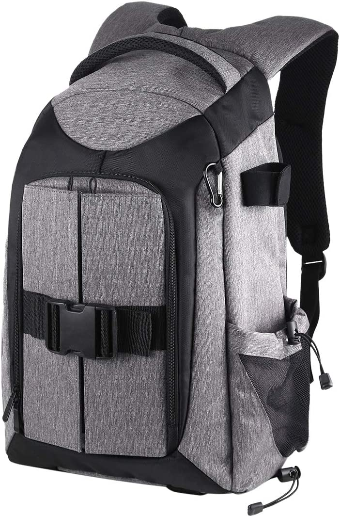 Grey Color : Grey Xdashou Camera Bag Wuzpx 3-Fold 14W Solar Power Outdoor Portable Dual Shoulders Backpackage Camera Bag with USB Port /& Earphone Hole