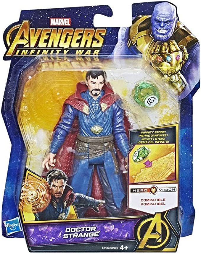 Hasbro Avengers Infinity War Personaje Doctor Strange, Multicolor ...