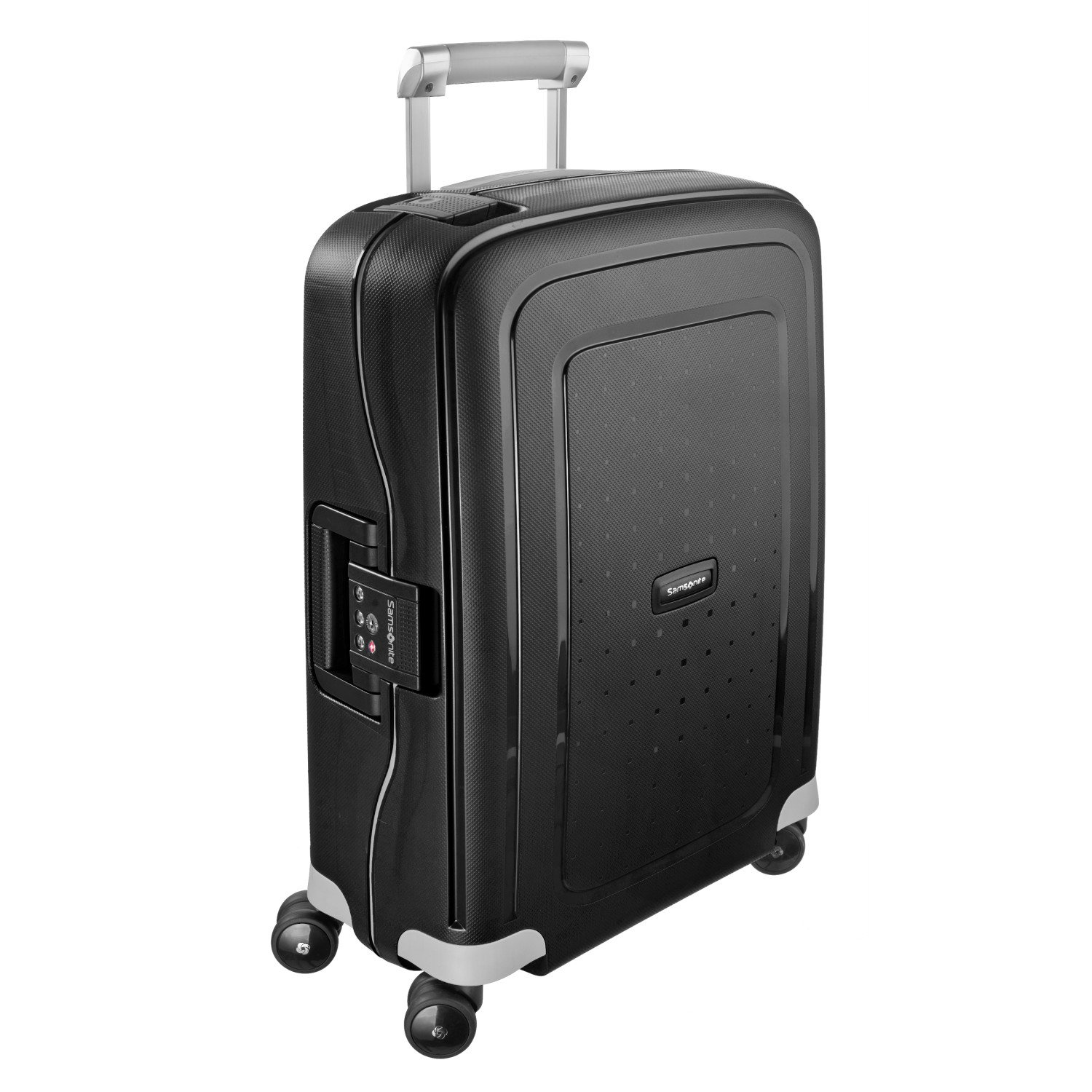 ec19f61b931 Amazon.com | Samsonite S'Cure Hardside Carry On Luggage with Spinner  Wheels, 20 Inch, Black | Luggage