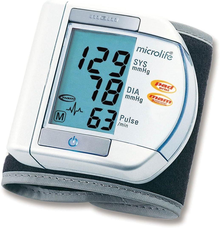Microlife Tensiómetro de muñeca automático BP W100