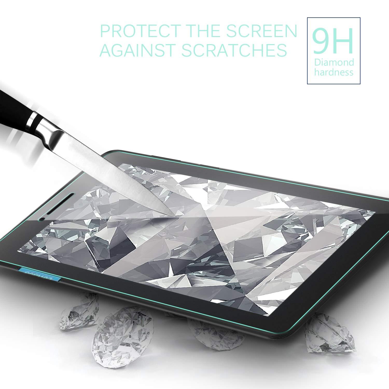 Haute-r/éponse Haute Transparence Protecteur dEcran en Verre Tremp/é Vitre Tempered pour Lenovo Tab E7 7 Pouces 2018 1 Pack IVSO Protection /écran pour Lenovo Tab E7