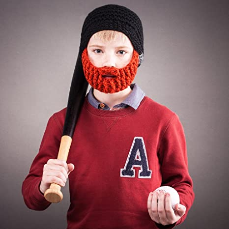 7b27aae9c1c Amazon.com  Beardo Kids Detachable Beard Hat