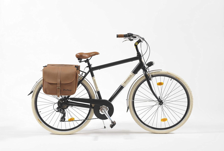 Bicicleta 605A de hombre Made in Italy Via Veneto, Hombre, nero ...