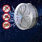 Masrin solarbetriebene Buzz UV-Lampe gegen Fliegen, Mücken, Insekten
