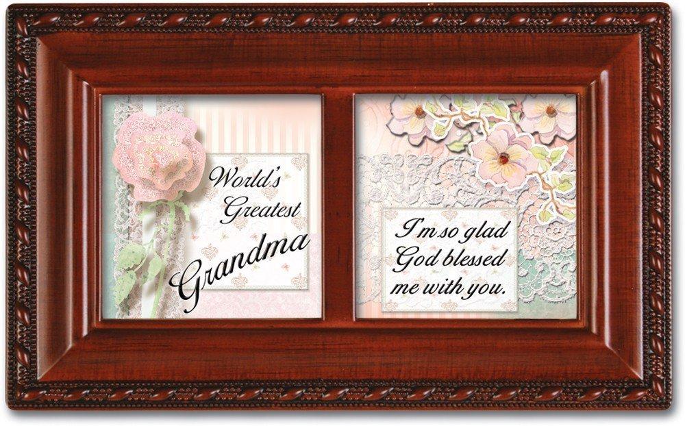 【楽ギフ_包装】 Worlds Greatest B003AKH25I Grandma Worlds Cottage Garden Grandma Inspirational木目調小柄音楽ボックスPlays Ave Maria B003AKH25I, 光栄堂楽器:51fecfe3 --- arcego.dominiotemporario.com