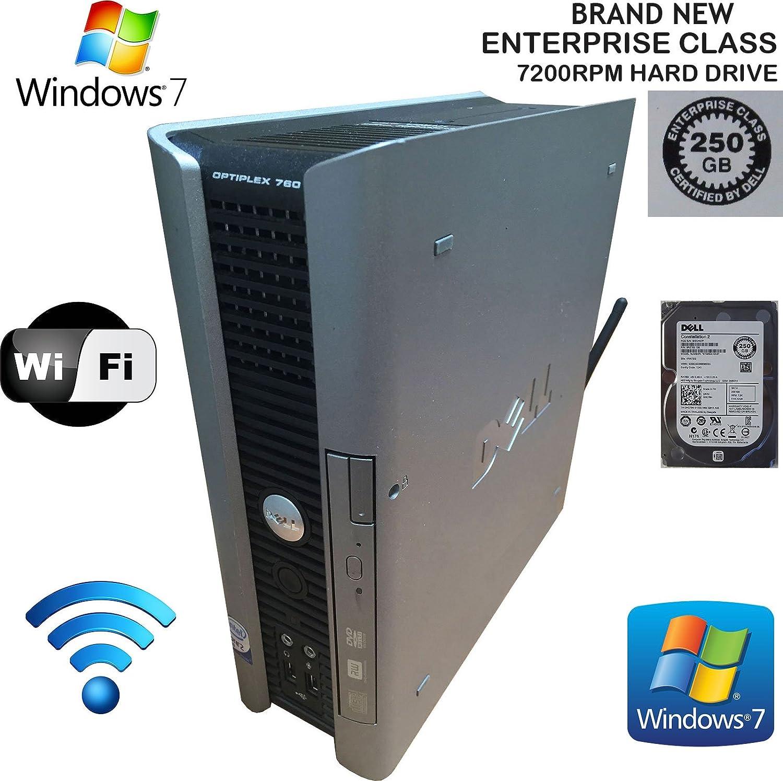 Dell Optiplex 760 USFF Desktop PC (Core2Duo, 2.8GHz CPU, 2GB of RAM, 160GB Hard Drive, and Windows 7 Professional 32-Bit)