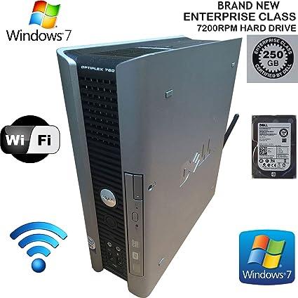 Amazon com: Dell Optiplex 760 USFF Desktop PC (Core2Duo, 2 8