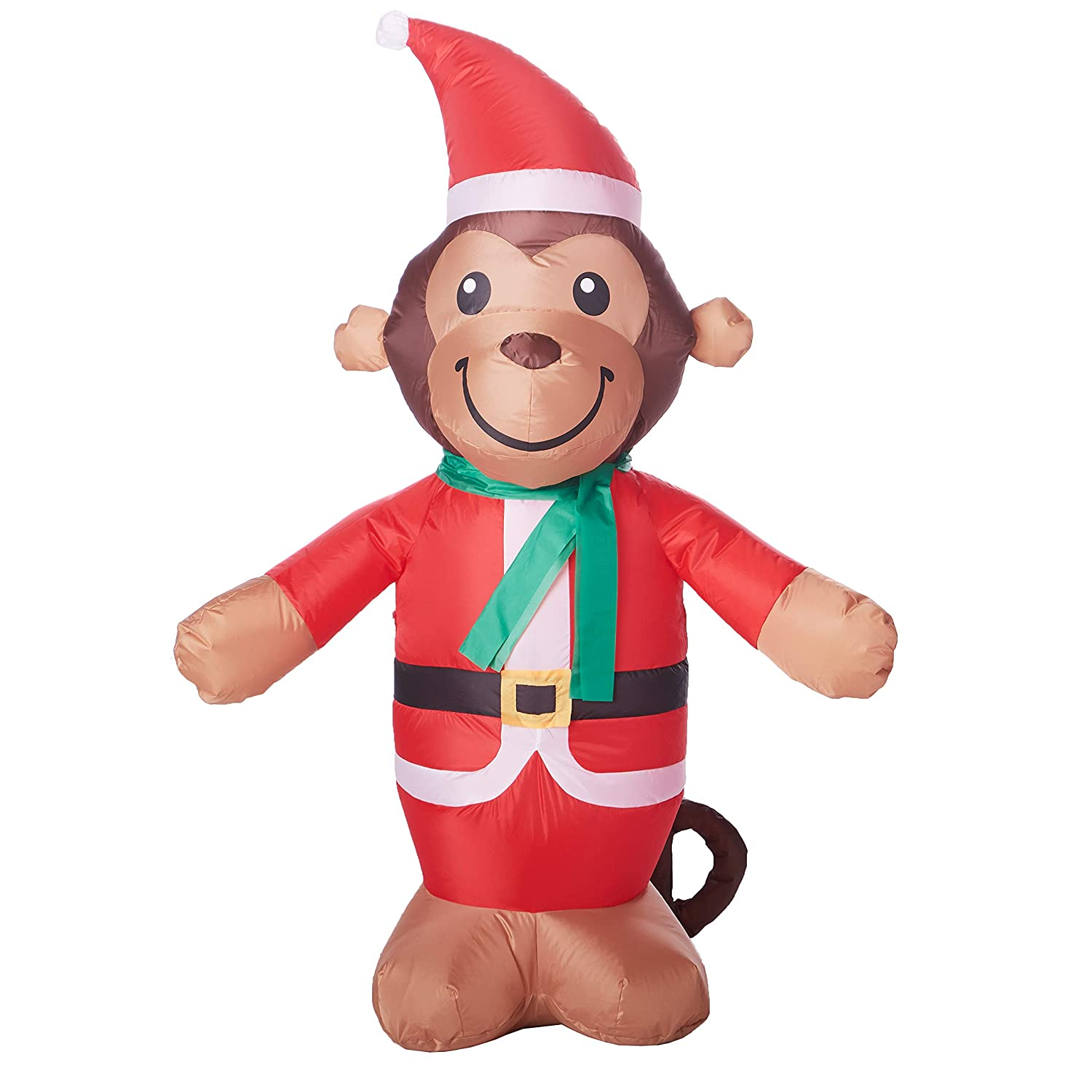 Ideas Monkey with Patch Kit Inflatable and Christmas Light Bulb Stickers Or Repair Patch Set Ropeastar Holiday Outdoor or Indoor Decorations Cute Yard Decoration for Christmas