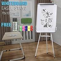 Whiteboard Portable Stand Easel Tripod Magnetic Display Telescopic Flipchart 60