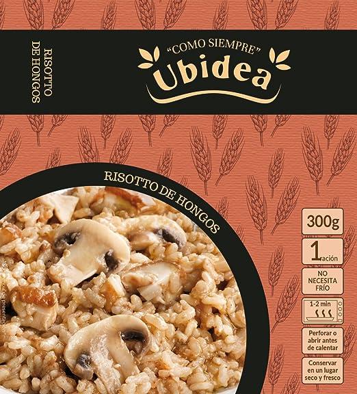 Risotto de Hongos - Ubidea - 3 platos
