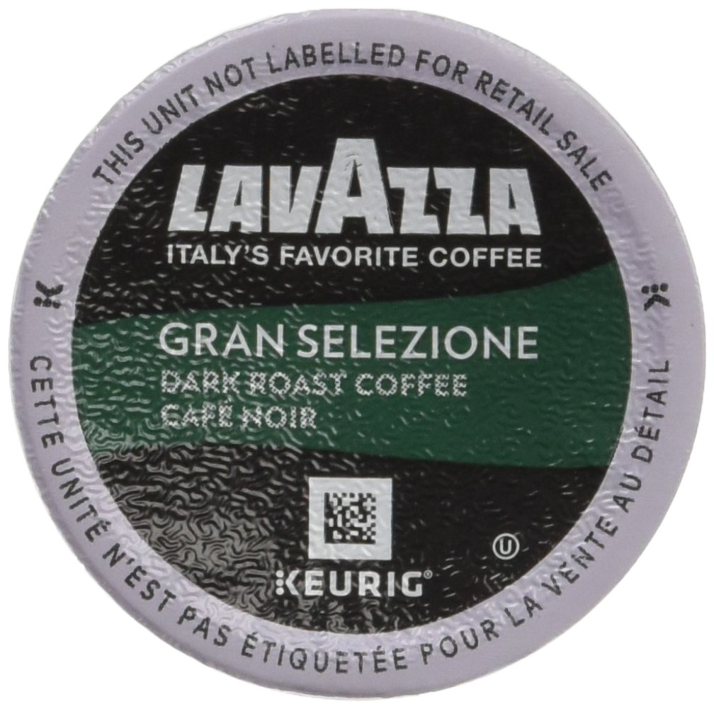 Lavazza K-Cup Portion Pack for Keurig Brewers, Gran Selezione, 22 Count