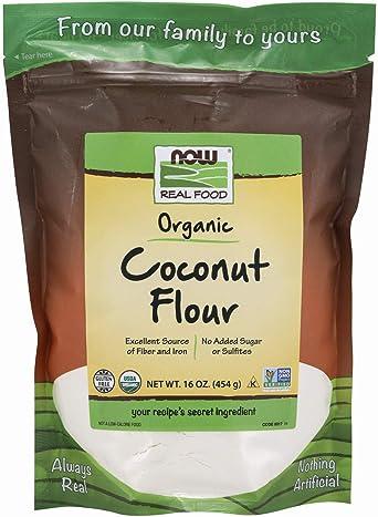 Now Foods - COCONUT FLOUR 454g: Amazon.es: Alimentación y bebidas