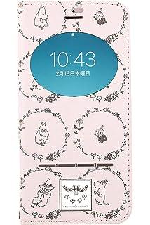 36017d8181 iPhone8 iPhone7 ケース 手帳型 ムーミン 窓付き キャラクター カード収納/ムーミンフレンズ
