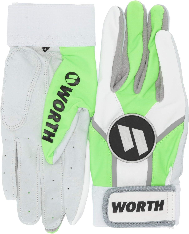 Worth Adult Baseball//Softball Batting Gloves 1 Pair WBATGL