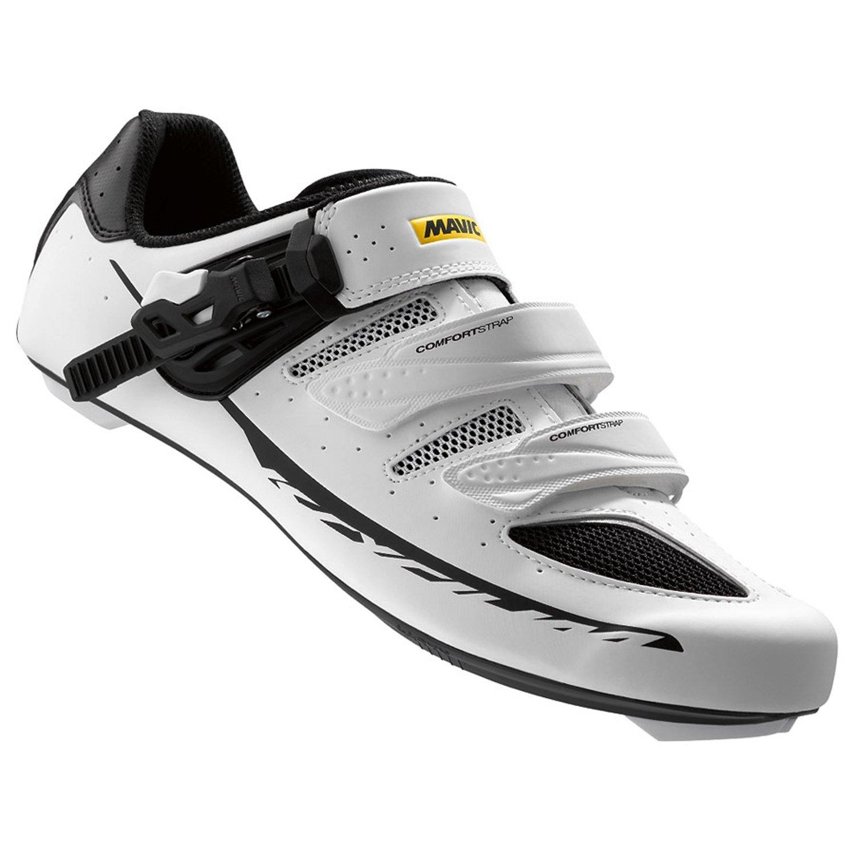 Mavic Ksyrium Elite II Shoes - Men's White/Black, US 11.5/UK 11.0