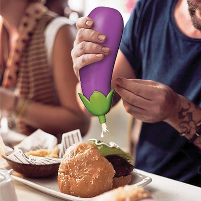 Eggplant Sauce Bottle