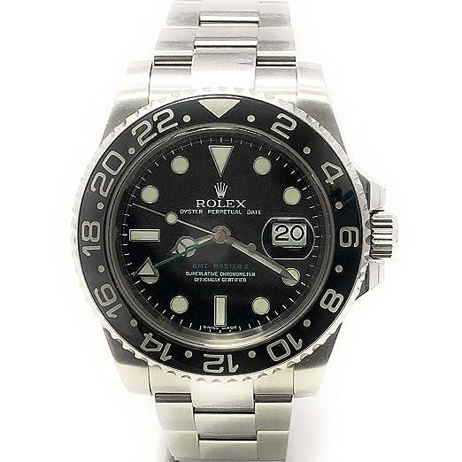 Rolex GMT 116710 Master II Swiss-Automatic - Reloj para hombre (certificado de autenticidad