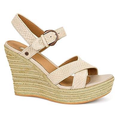 Womens Sandals UGG Jazmine Mar Pearl Suede