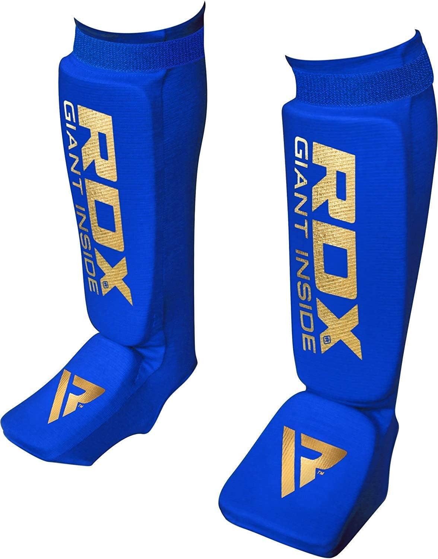 RDX Espinilleras Kick Boxing Boxeo MMA Protecci/ón Muay Thai Espinilla Empeine Shin Pads