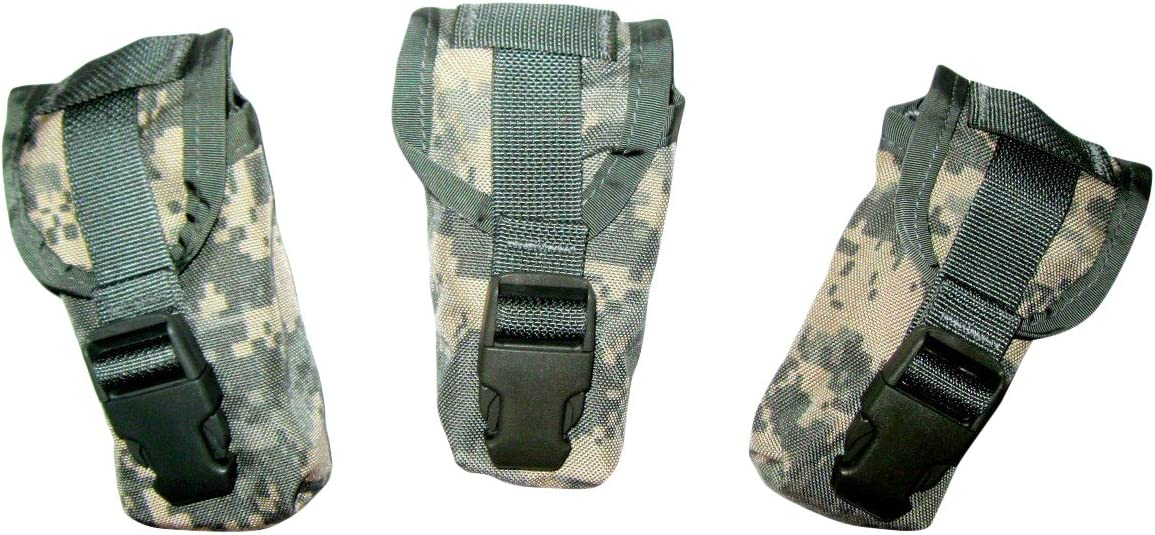 Molle Compass Pouch NEW Lot of 2 ACU Digital Military MOLLE Hand Grenade Pouch