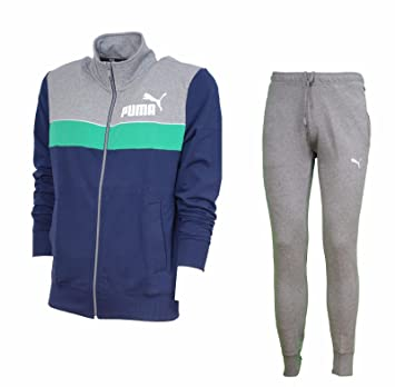 5ae37a153a17 Men Puma Tracksuit Blue Cotton Red Sport Gym Time Liber Fun Sweat Suit  836541  Amazon.co.uk  Sports   Outdoors