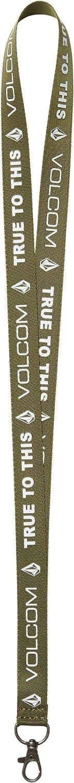 Volcom Mens Lanyard Key Chain