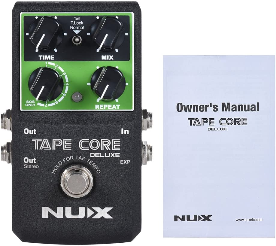ammoon NUX TAPE CORE DELUXE Guitarra Eléctrica Pedal de Efecto ...