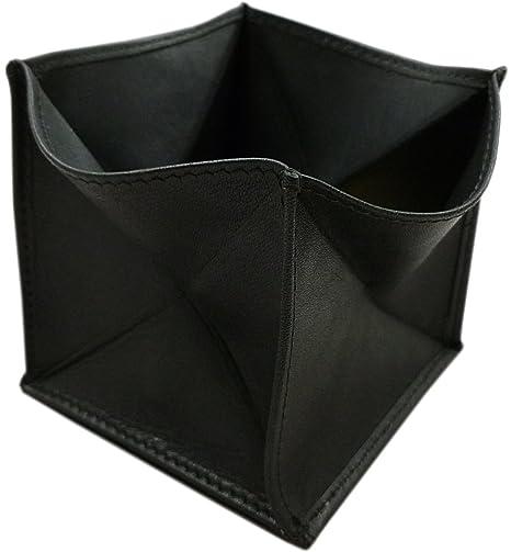 Cuero de vaca marroquí monedero MJ-Design-Germany en negro ...