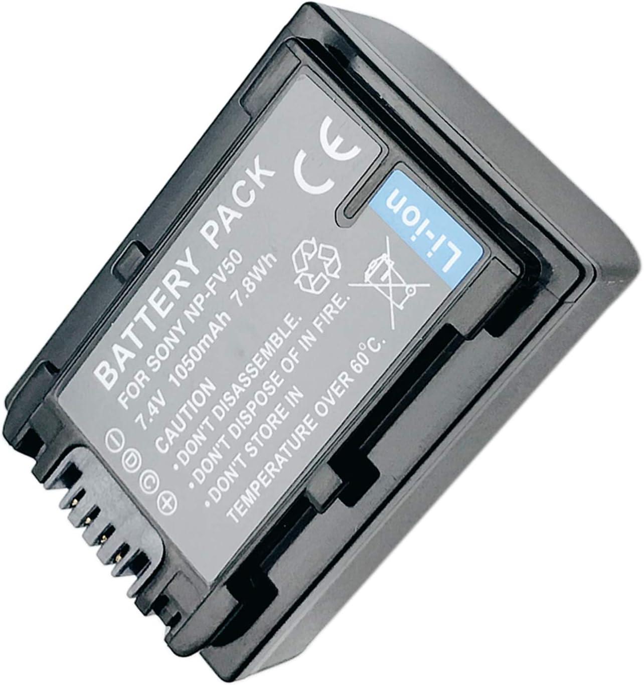 NEX-VG20E Battery Pack for Sony NEX-VG10 NEX-VG10E NEX-VG20 NEX-VG20H Handycam Camcorder