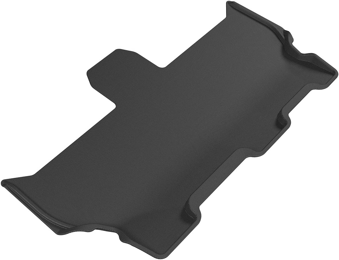 3D MAXpider - L1CY00531509 Third Row Custom Fit All-Weather Floor Mat for Select Chrysler Pacifica Models - Kagu Rubber (Black)