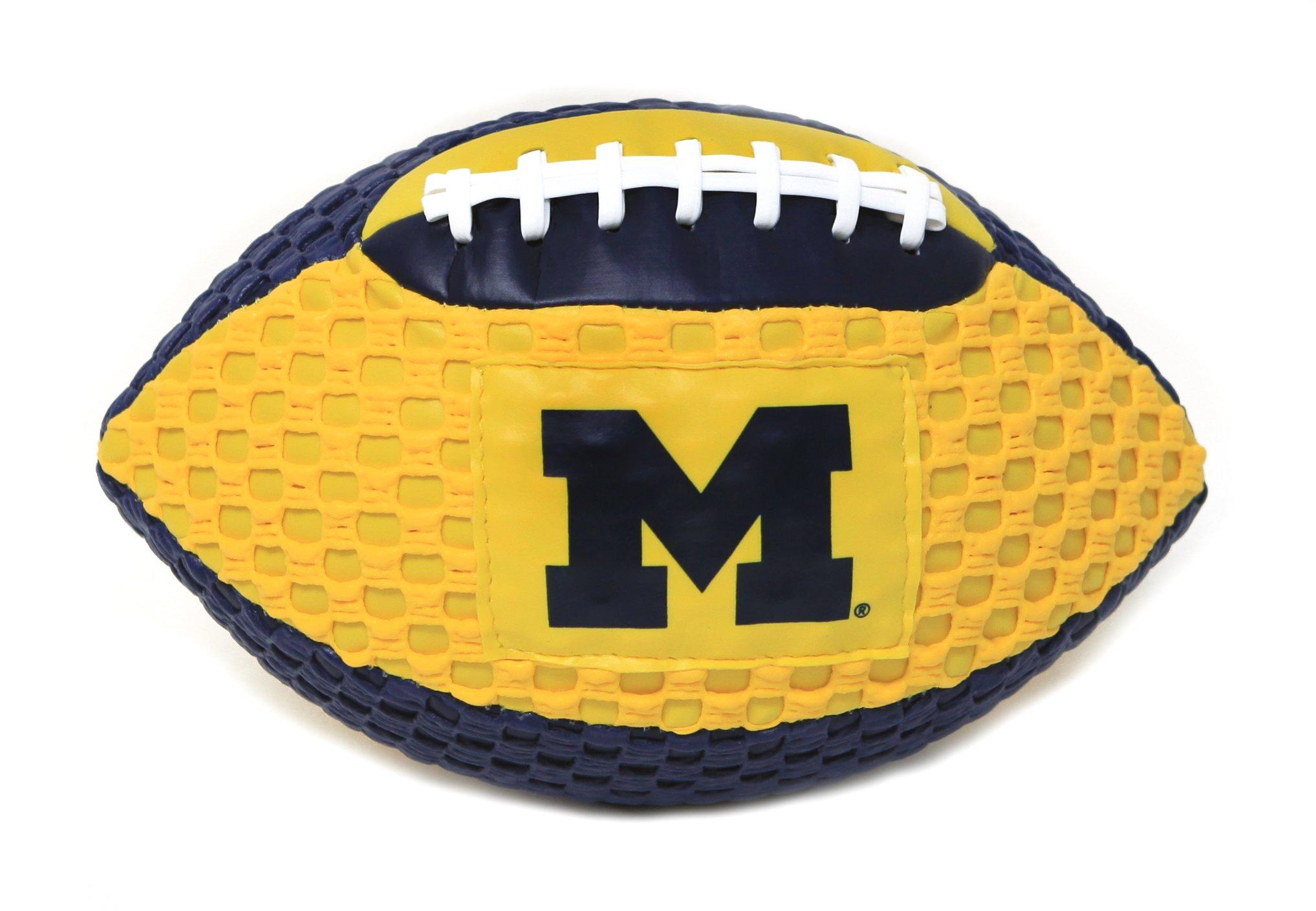 Michigan Wolverines Fun Gripper 8.5 Football NCAA By: Saturnian I